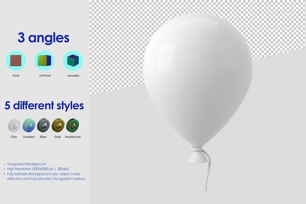 Ikona balon 3d