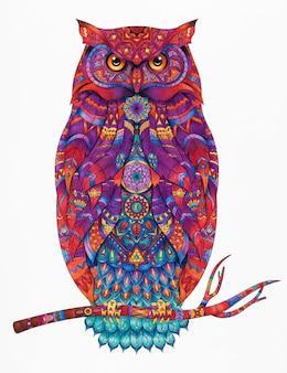 Ilustracja strony kolorowanki zwierząt dorosłych