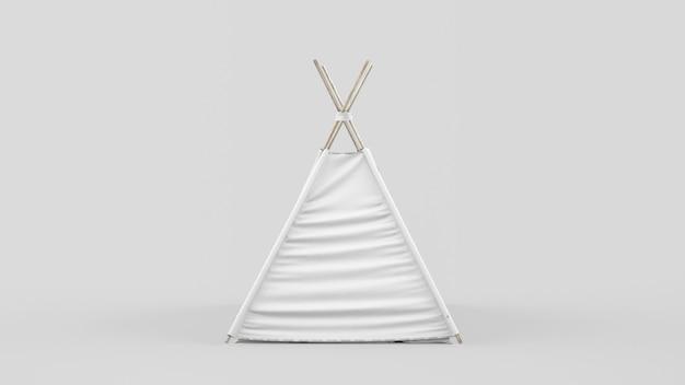 Indyjski namiot lub tipi dla dzieci