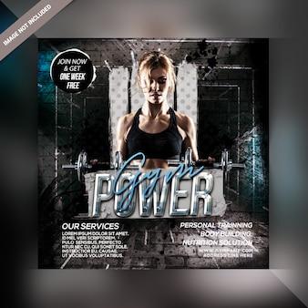 Instagram siłowni fitness