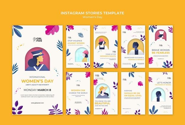 Instagramowe historie z międzynarodowego dnia kobiet