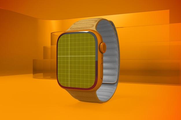 Inteligentny zegarek na szkle