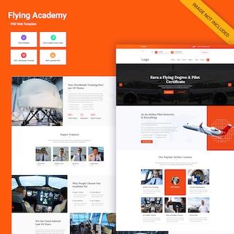 Interfejs sieciowy flying academy