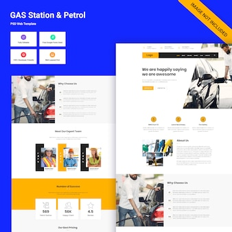 Interfejs stacji benzynowej
