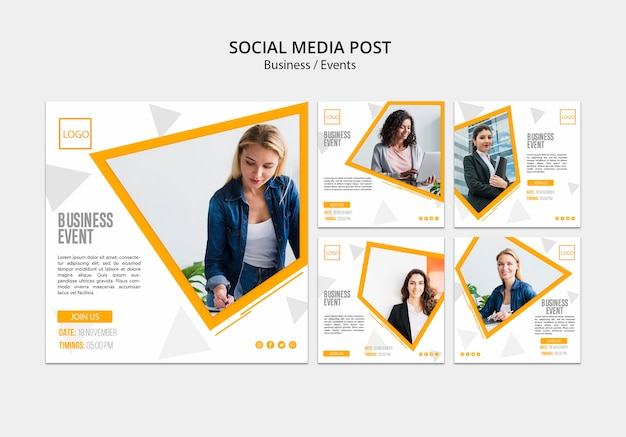 Internetowy post biznesowy w mediach społecznościowych