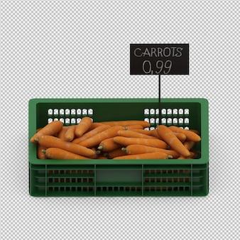 Isometric marchewki 3d odpłacają się