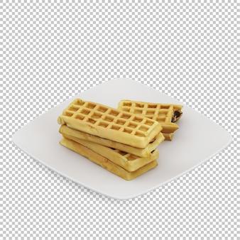 Isometric śniadanie