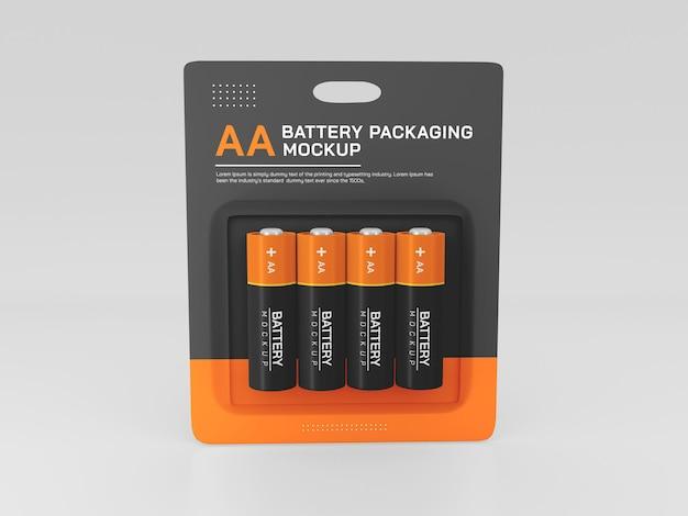 Izolowana makieta baterii
