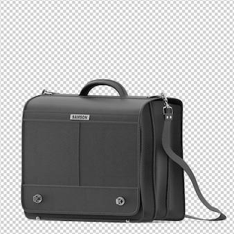 Izometryczna torba biurowa