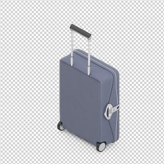 Izometryczna walizka