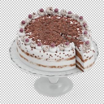 Izometryczne ciasto