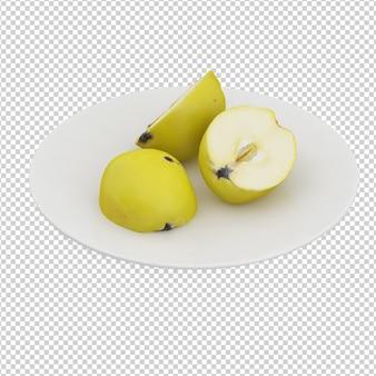 Izometryczne jabłka