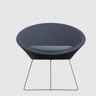 Izometryczne krzesło biurowe