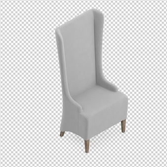 Izometryczne krzesło