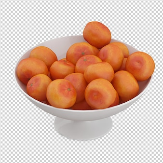 Izometryczne mandarynki