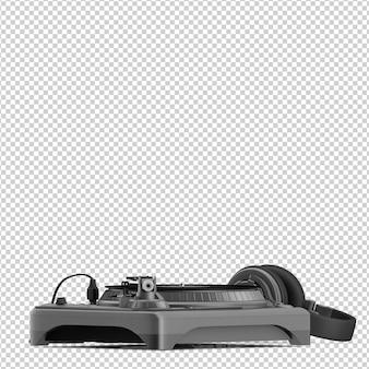 Izometryczne narzędzie dj