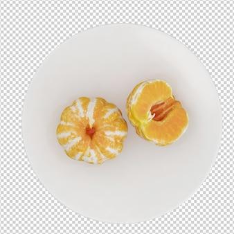 Izometryczne pomarańcze
