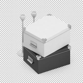Izometryczne pudełka