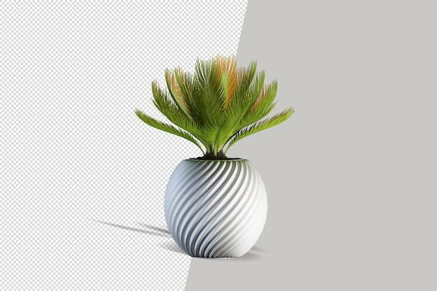 Izometryczne Renderowanie 3d Roślin Premium Psd