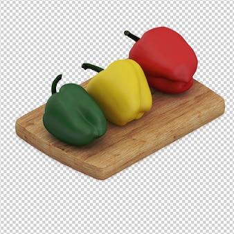 Izometryczne warzywa