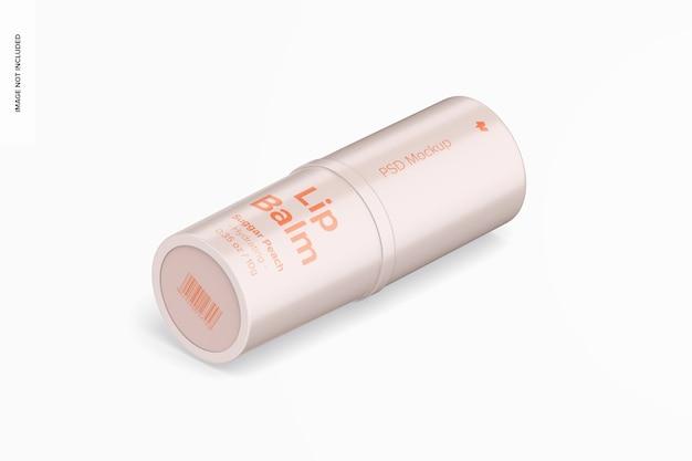 Izometryczny 0,35 uncji makieta balsamu do ust