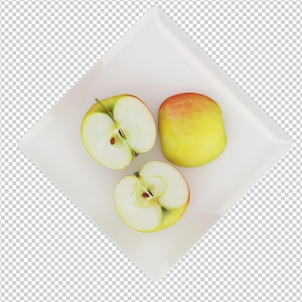 Izometryczny apple