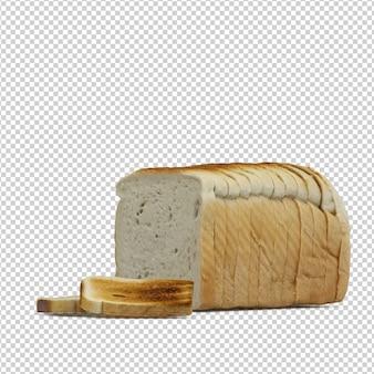 Izometryczny chleb