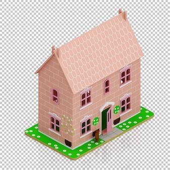 Izometryczny dom dziecka