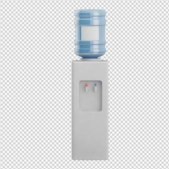 Izometryczny dozownik wody