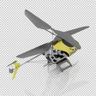 Izometryczny helikopter dla dzieci