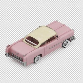 Izometryczny rocznika samochodu