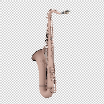 Izometryczny saksofon