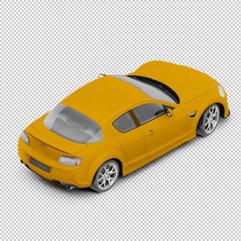 Izometryczny samochód