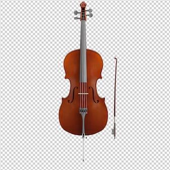 Izometryczny skrzypce
