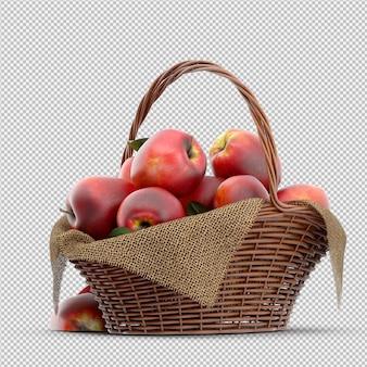 Jabłka 3d render