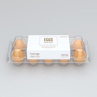 Jajka mock up