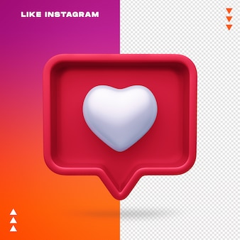 Jak instagram na białym tle