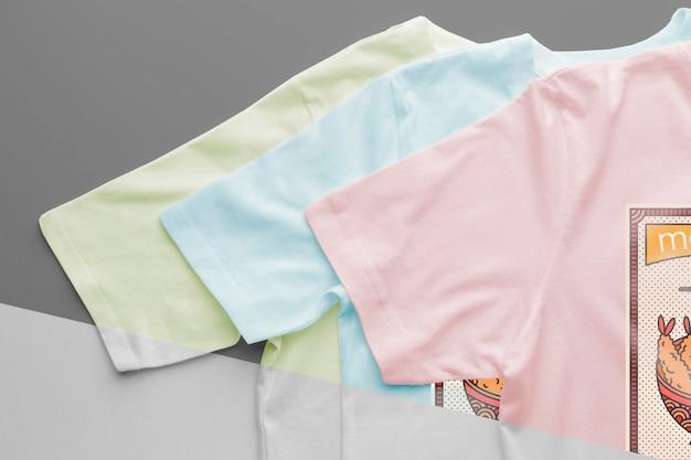 Japońska makieta t-shirtu