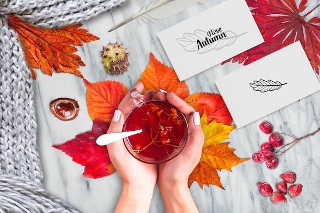 Jesień makieta