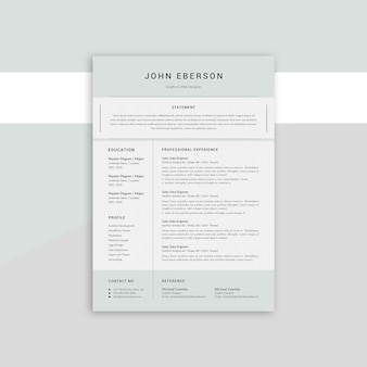 John eberson rsume
