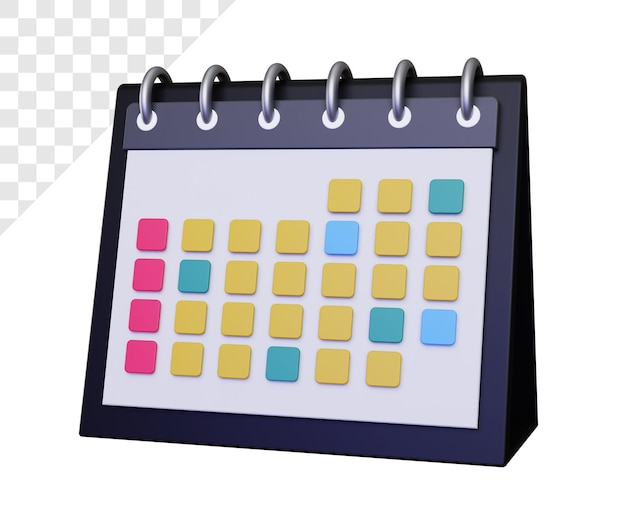 Kalendarz 3d dla organizacji