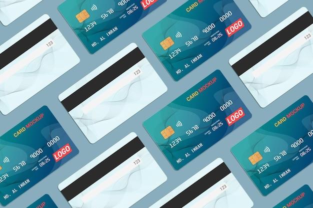 Karta debetowa karta inteligentna karta plastikowa makieta