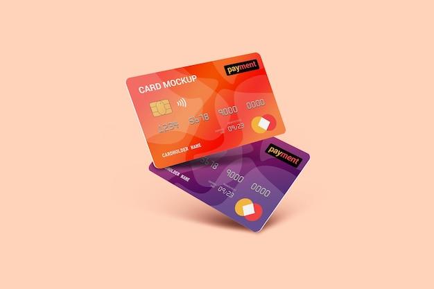 Karta debetowa karta inteligentna makieta karty plastikowej
