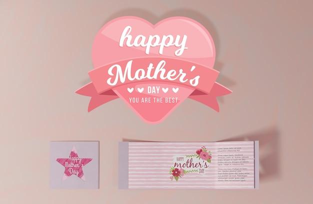 Kartkę z życzeniami dzień matki szczegół