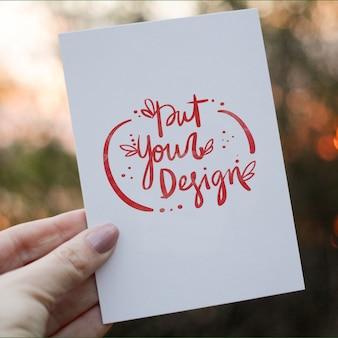 Kartki z życzeniami szablon projektu