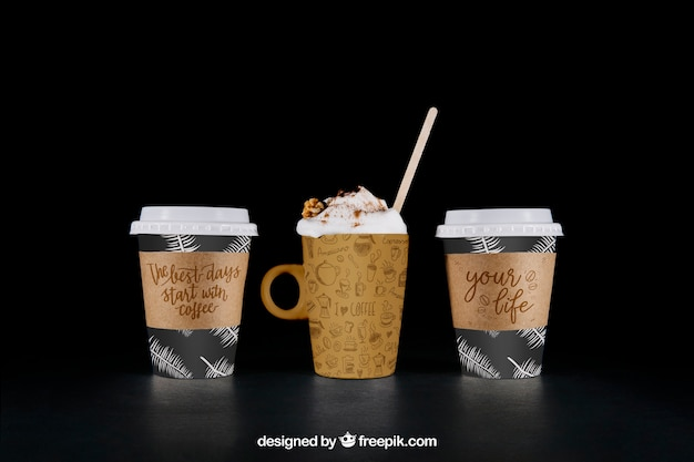 Kawa do zrobienia makieta