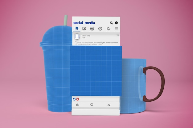 Kawiarnia social media v1