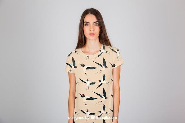 Kobieta koncepcji mody