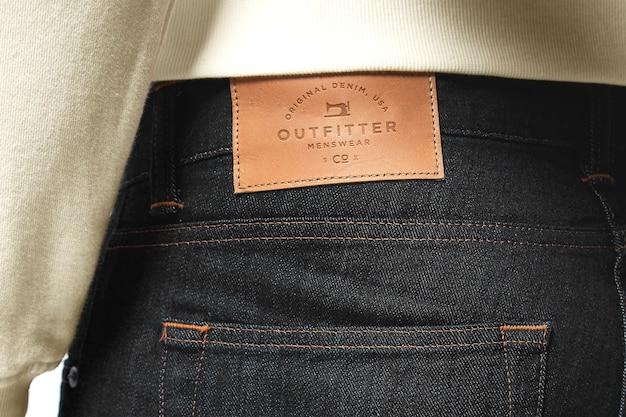 Kolekcja makiety jeansów marki