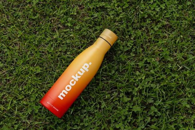 Kompozycja makiety butelki na wodę